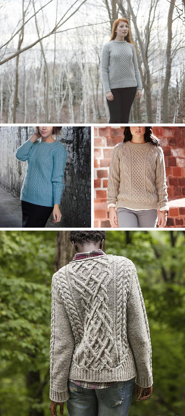 Best fisherman sweater patterns | Fringe Association