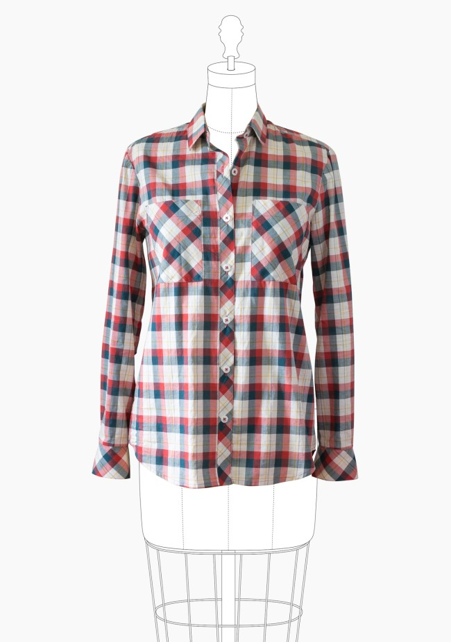 Handmade Wardrobe Basics: The button-down shirt