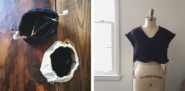 Quick black raglan sweater recipe