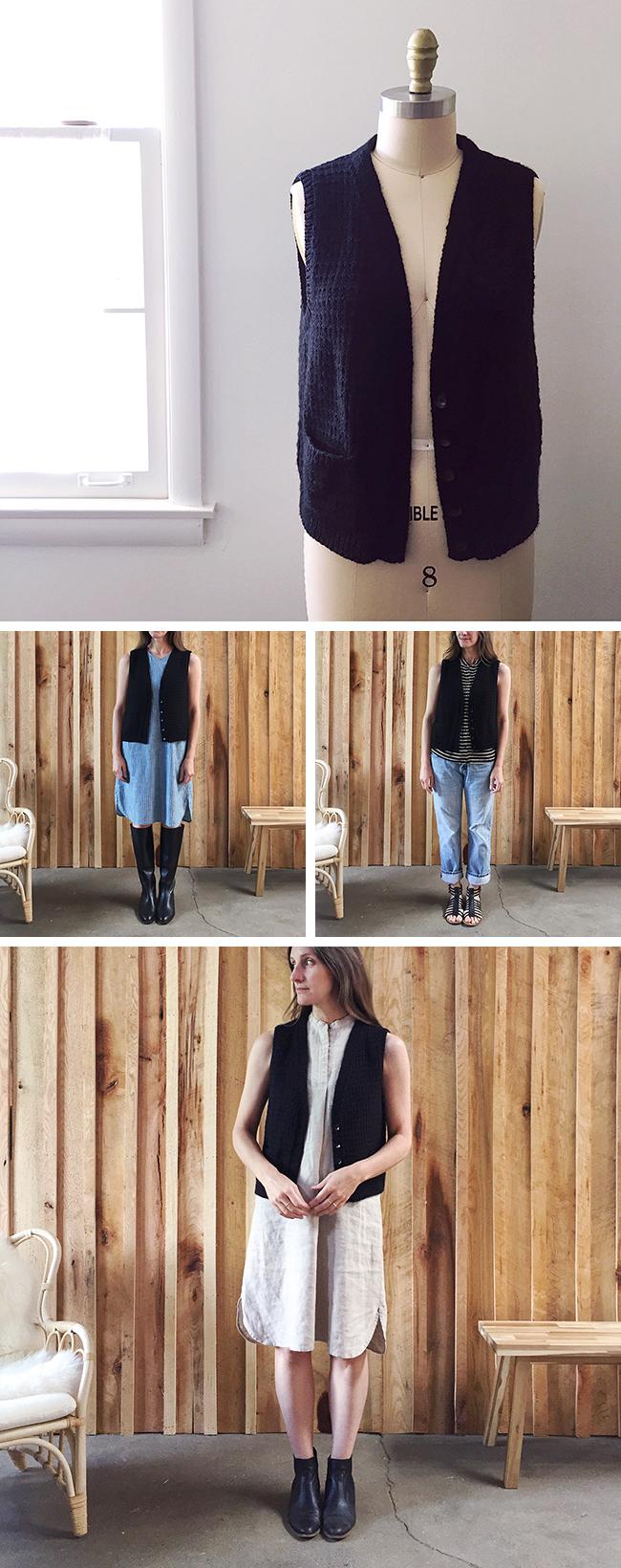 FO : black Anna Vest