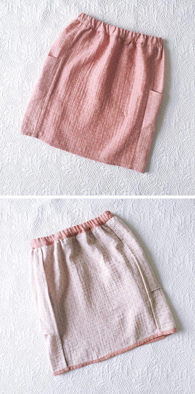 FO: Purl Soho Gathered Skirt, take two