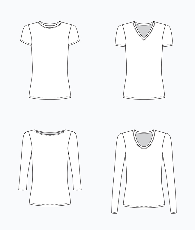 Make Your Own Basics: The t-shirt