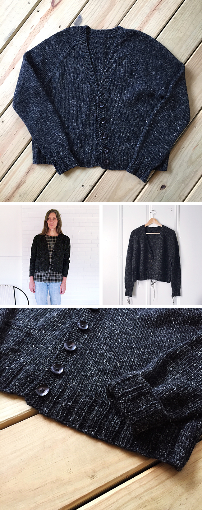 FO : The linen-wool cardigan of my dreams