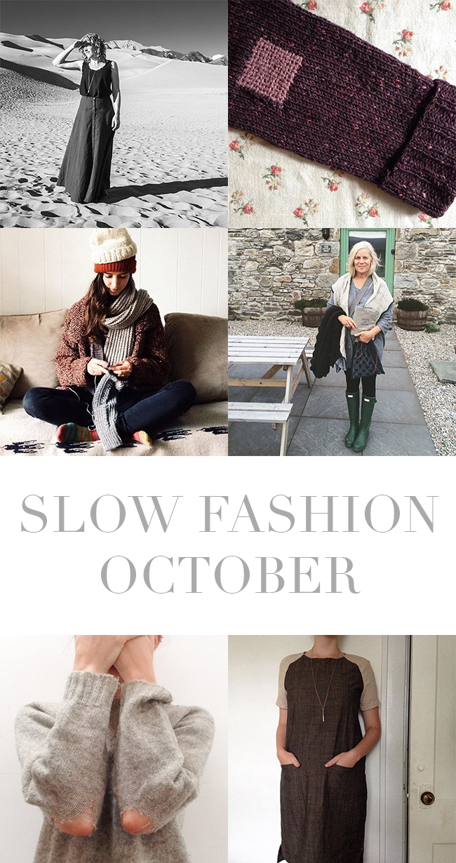 Slow Fashion October 2016