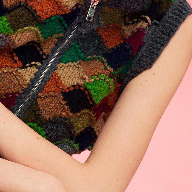 Prada's hippie-Cowichan funhouse sweaters