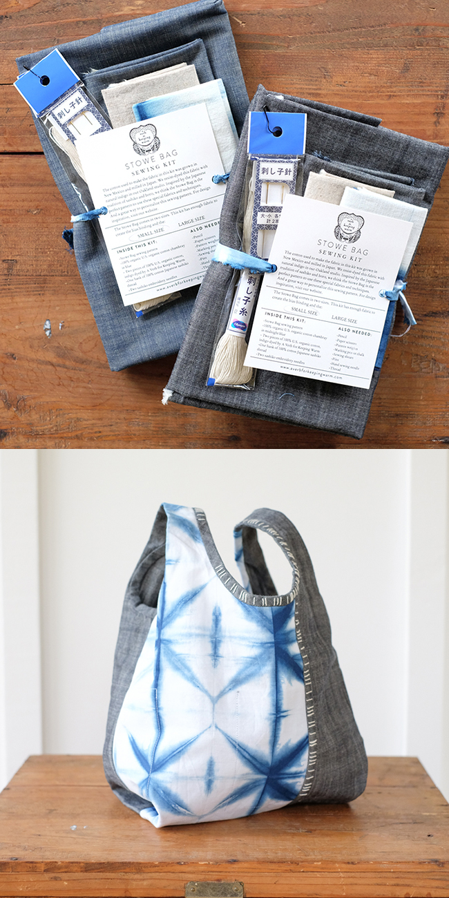 Top 10 ways to improve your knitting life this holiday season: Stowe Bag kit