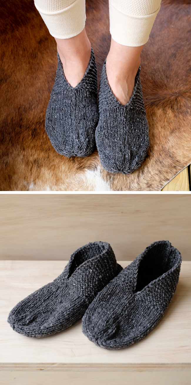 FO: Simple House Slippers