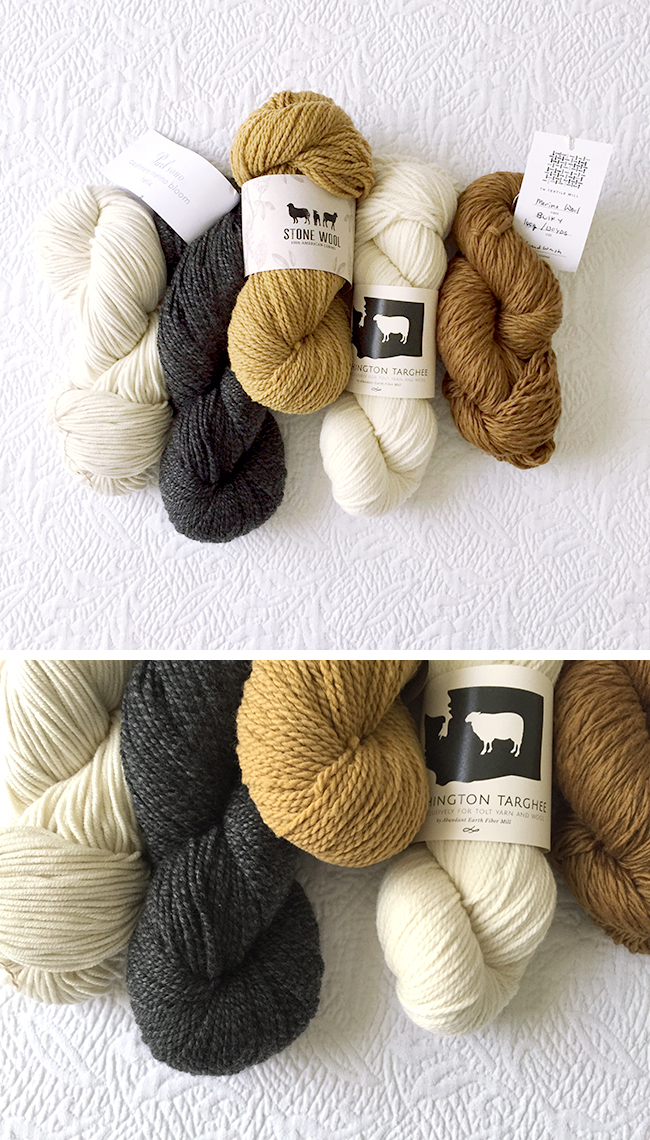Yarns in Waiting, late 2016