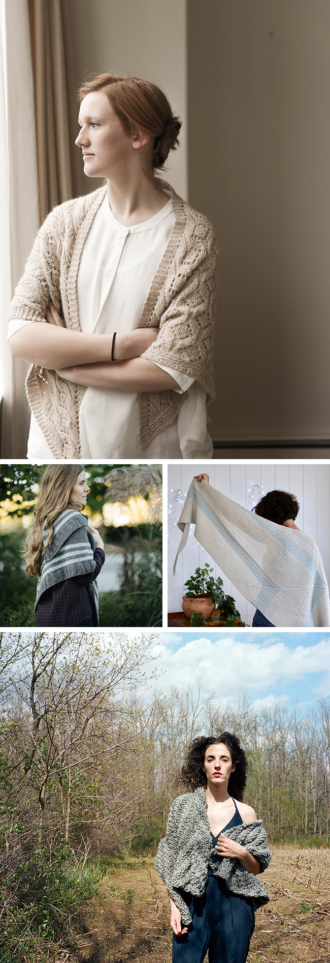 New Favorites: Spring shawls