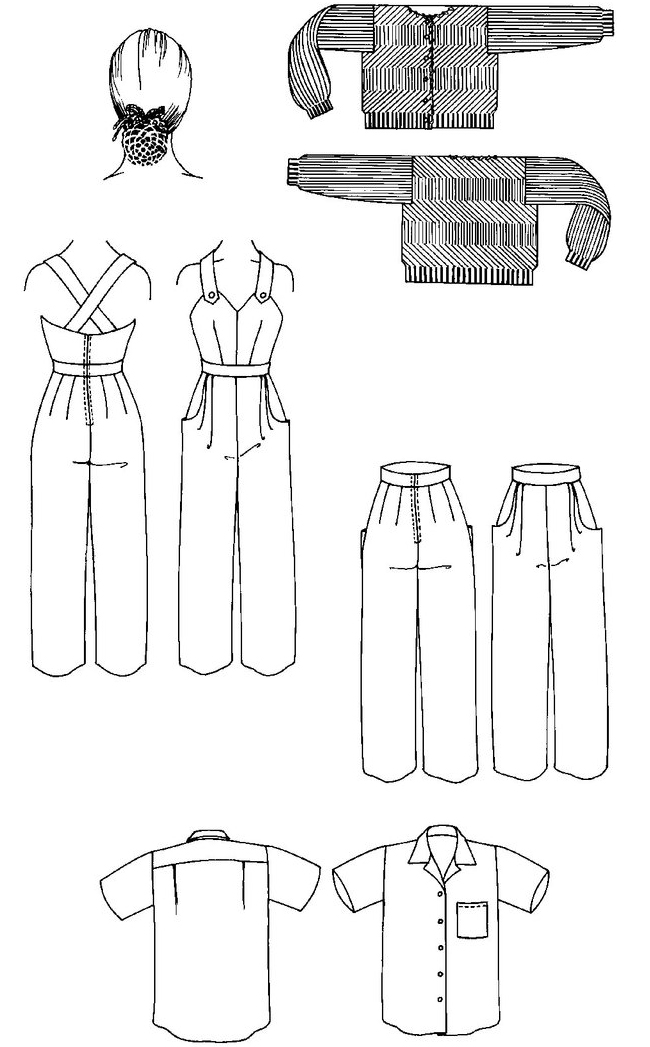 Rabbit Hole: Folkwear patterns
