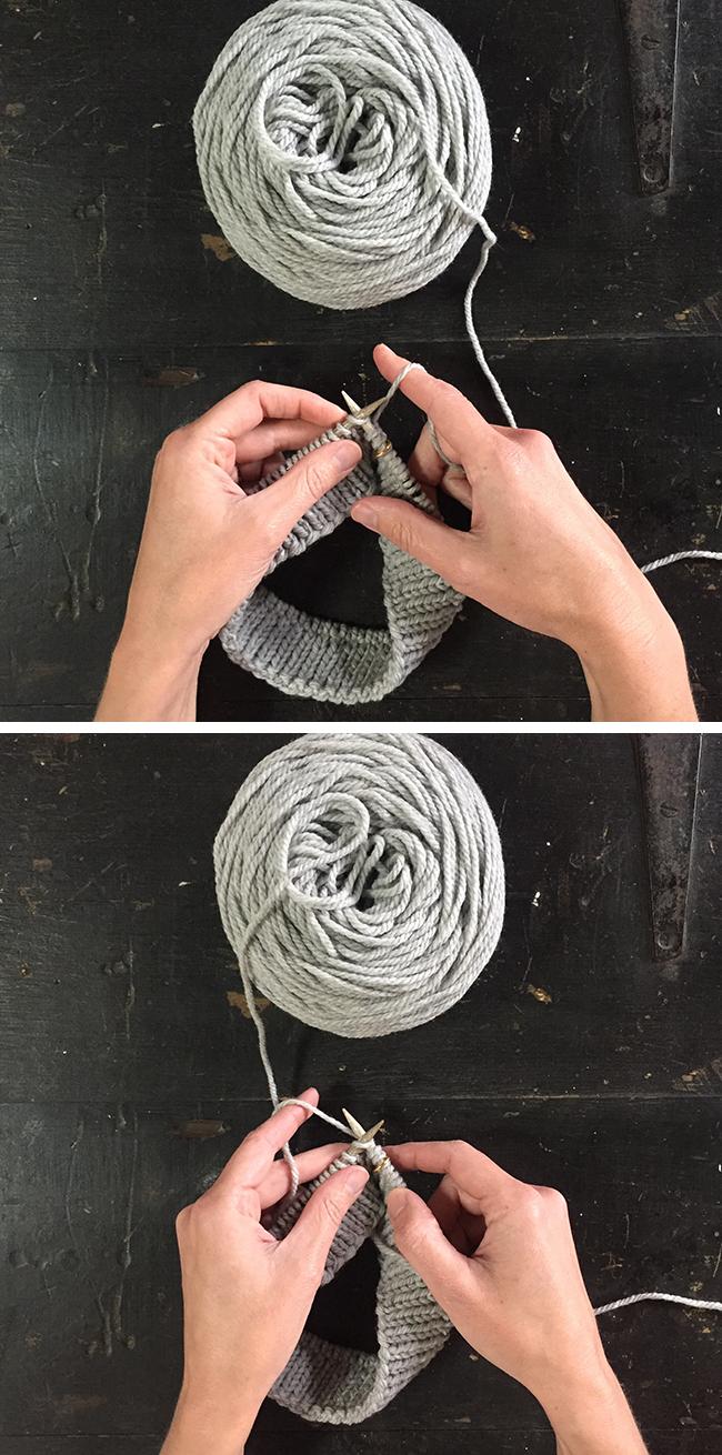 Knitting Left Handed Ssk : How to knit left handed fringe association