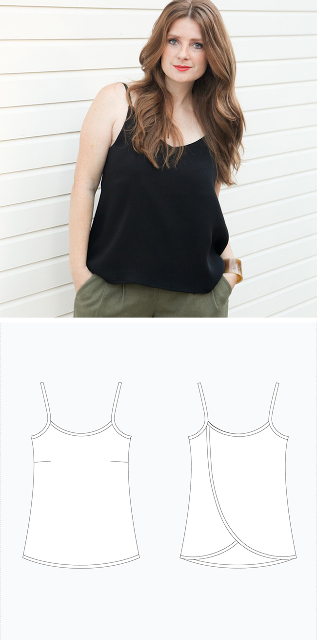 Make Your Own Basics: The camisole