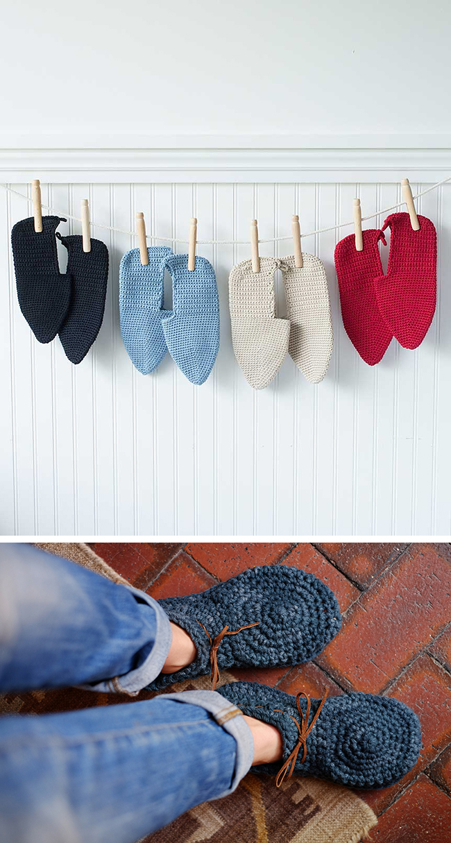 New Favorites: Crocheted slippers