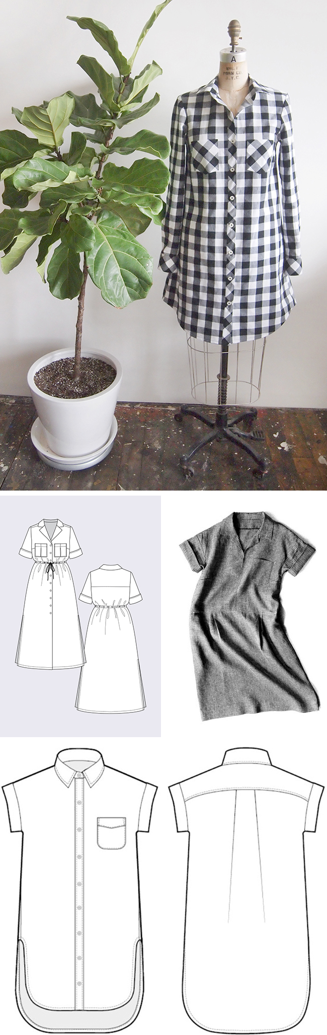 Make Your Own Basics: The shirt dress