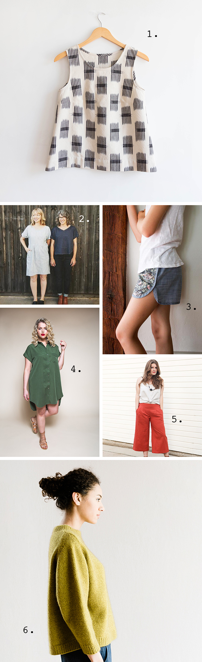 Hot patterns and last-month ideas from the Summer of Basics
