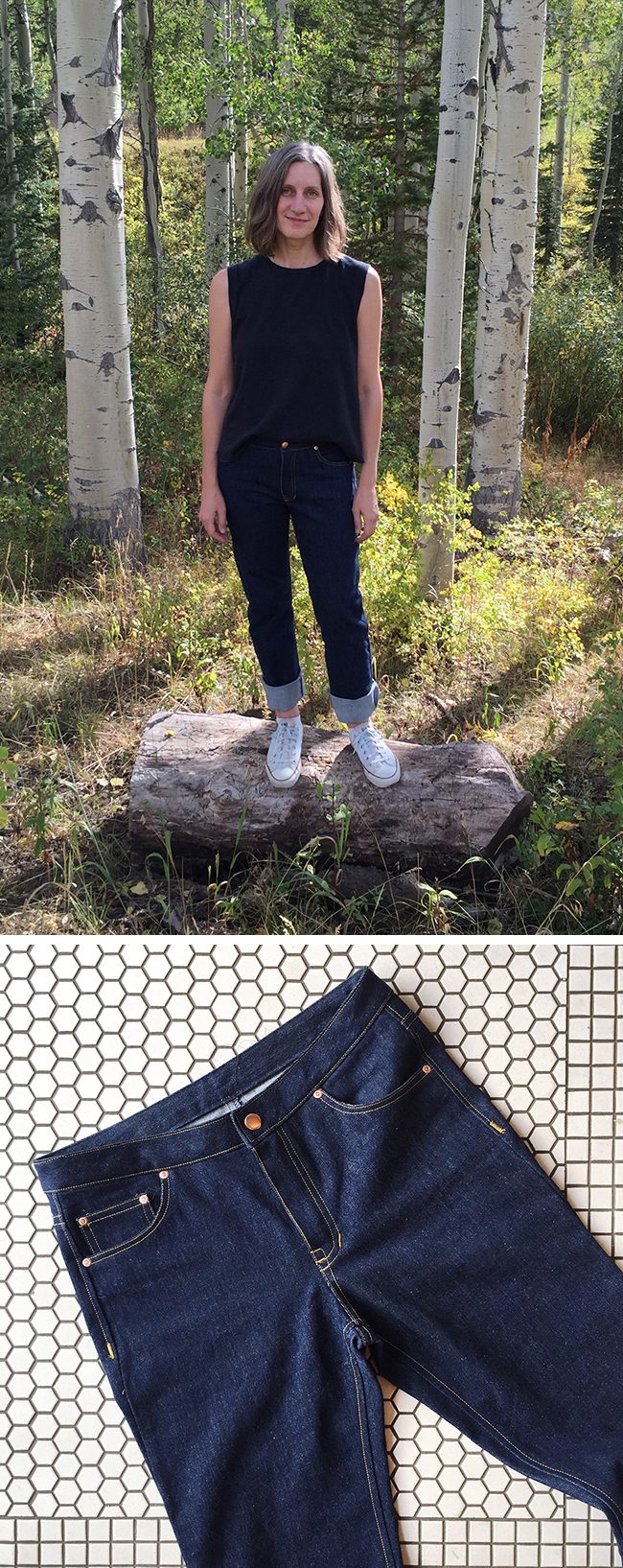 MADE: My first jeans