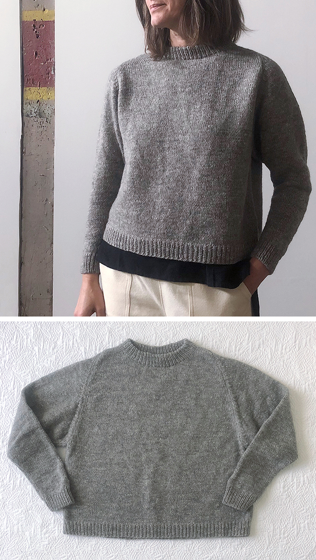 2017 FO 19 : Junegrass Cline sweater
