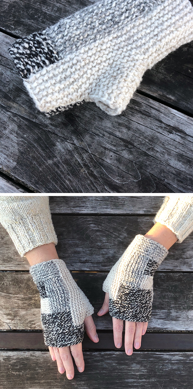 Logalong FO 1 : My fingerless mitts