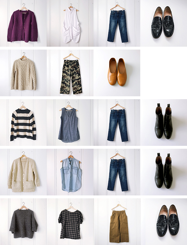So long, winter wardrobe: Notes for next year