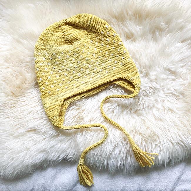 ScandinAndean earflap hat