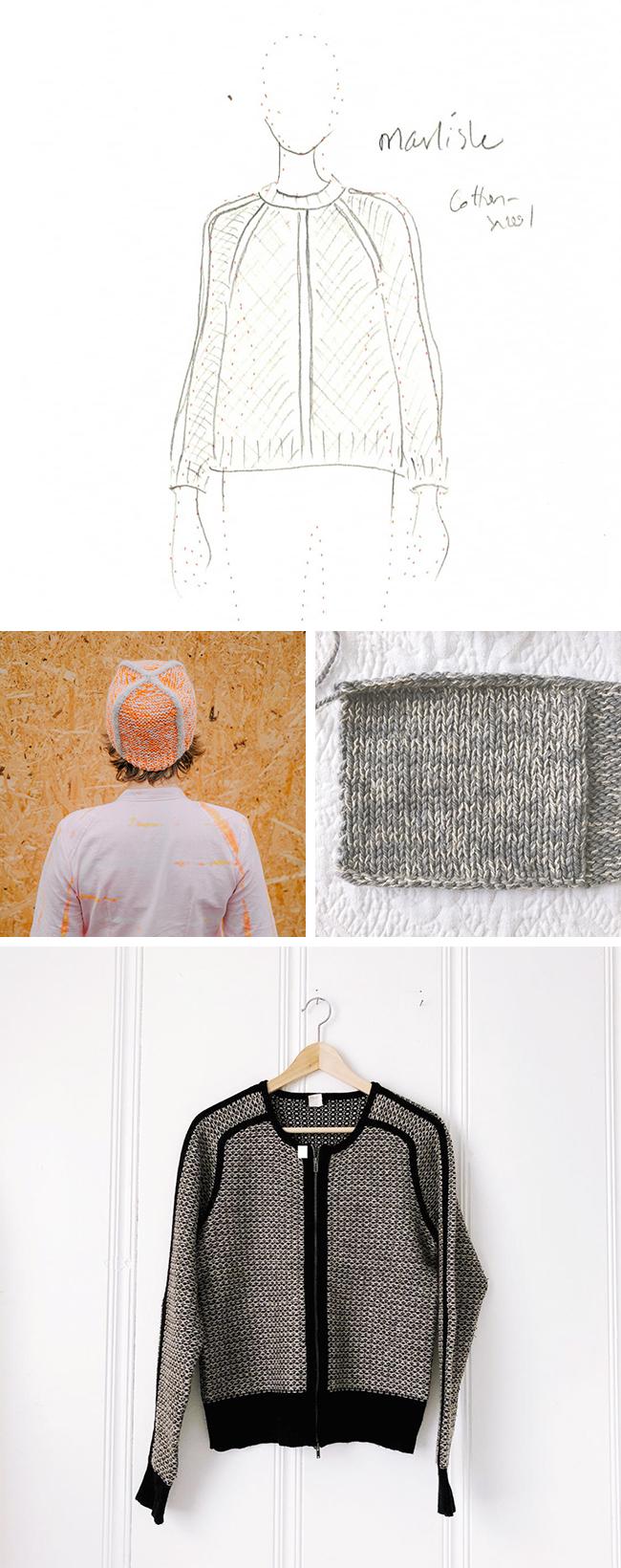 Idea Log: Marlisle-inspired pullover