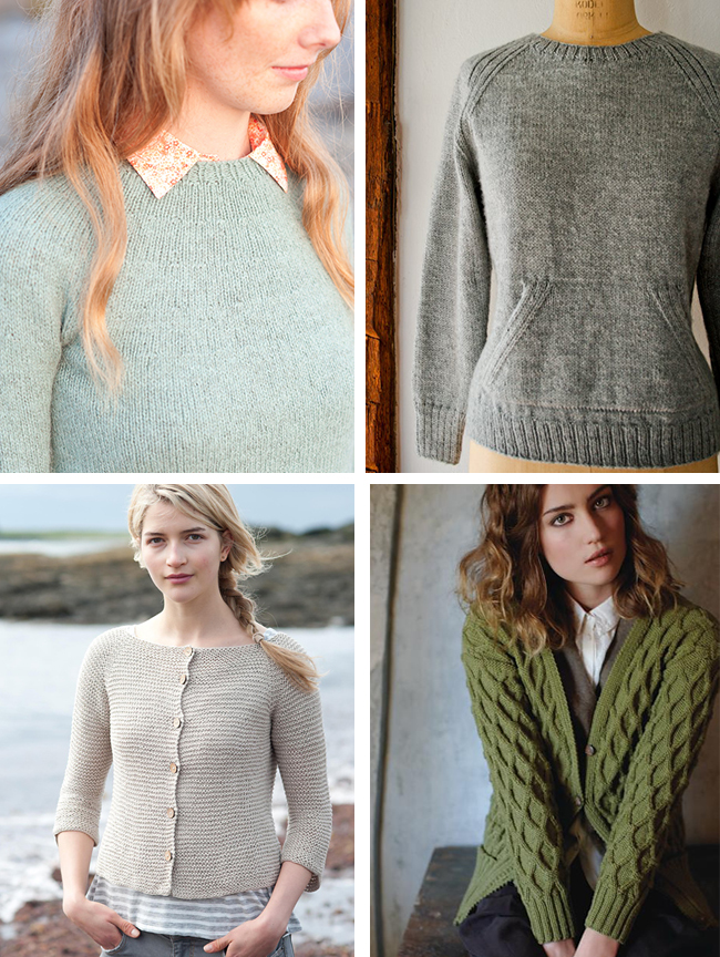 Introduction to sweater knitting: Construction types and starter ...