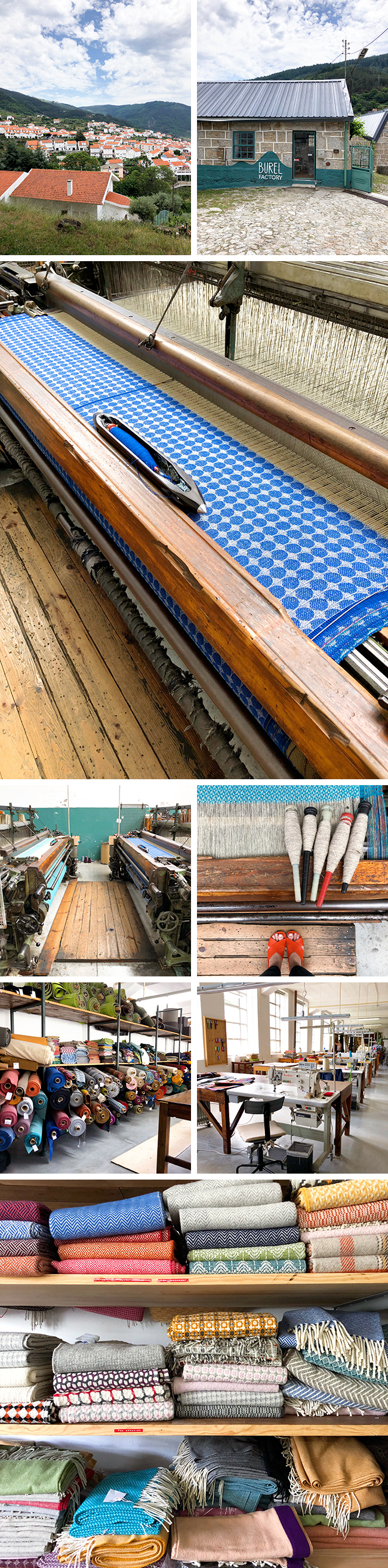 Portugal guide: Burel wool factory tour, blankets