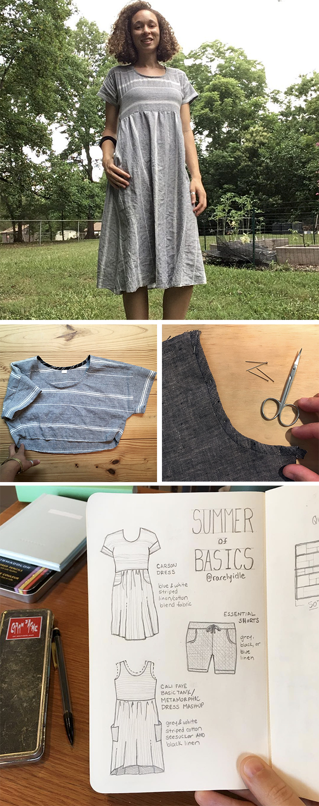Summer of Basics July winners: The WIPs