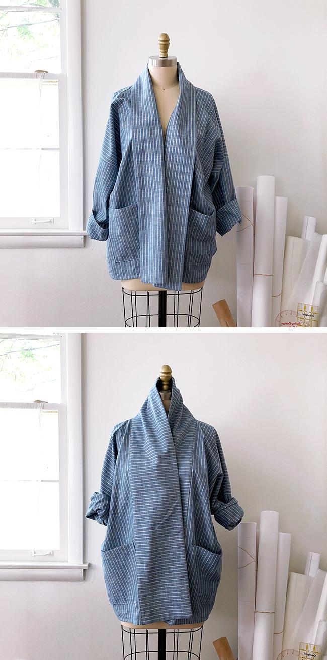 Wiksten Kimono, pajama style (2018 FO-17)