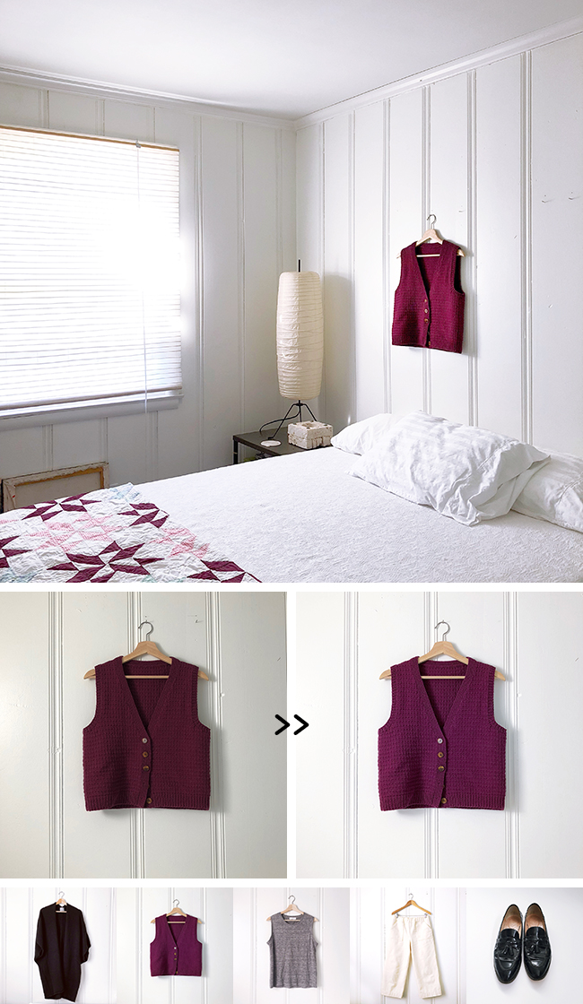 How to make a visual closet inventory